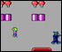 Commander Keen: Invasion of the Vorticons :: Get to the end of the map while avoiding or killing enemies.  Use the key cards to get through locked doors.